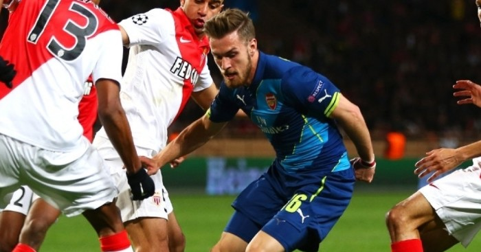 Aaron Ramsey: Scored three times against Stoke