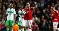 Juan Mata: Scored for United against Wolfsburg