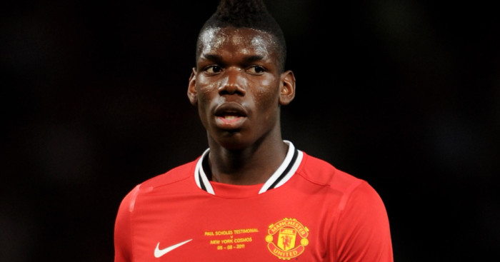Paul Pogba Manchester United 2011 Football365