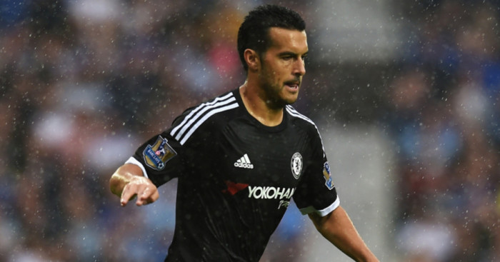 Pedro: Set to miss Arsenal game
