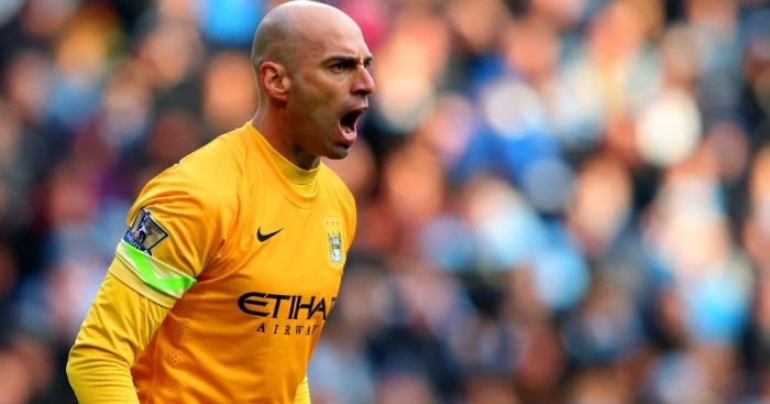Willy Caballero Manchester City Football365