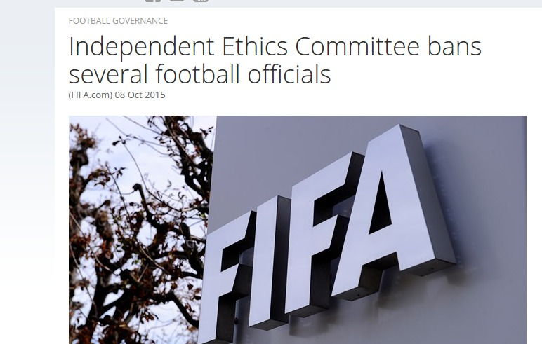 Independent Ethics Committee bans several football officials   FIFA.com