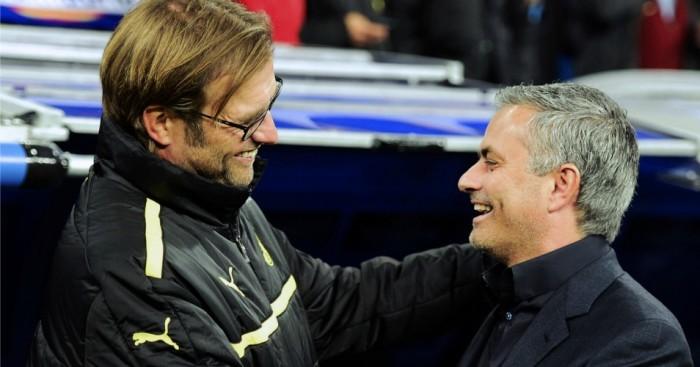 Jurgen Klopp Jose Mourinho Football365