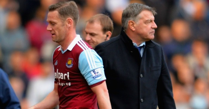Kevin Nolan Sam Allardyce Football365