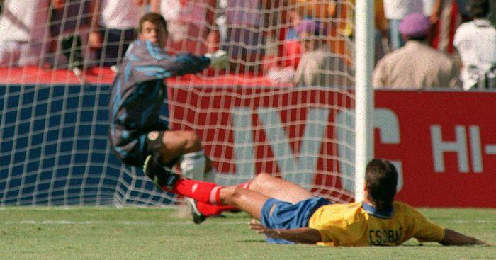 Andres Escobar own goal