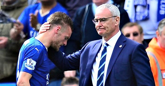 Jamie Vardy Claudio Ranieri Football365