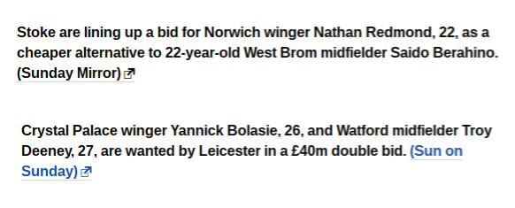 BBC Gossip Football365
