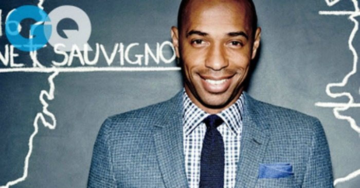 Thierry Henry GQ