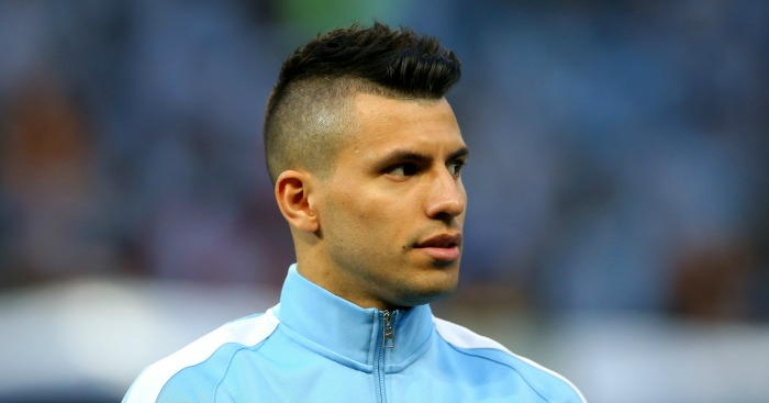 Aguero Returns From Argentina Duty With Injury Football - Aguero hairstyle new