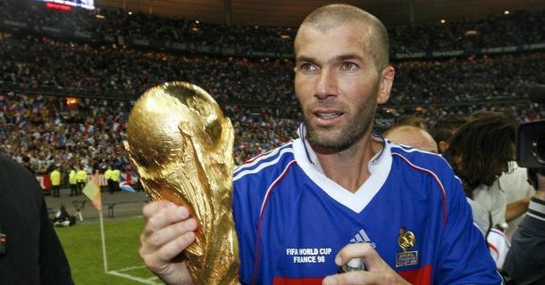 Portrait of an icon zinedine zidane football365 - Zidane coupe du monde 1998 ...