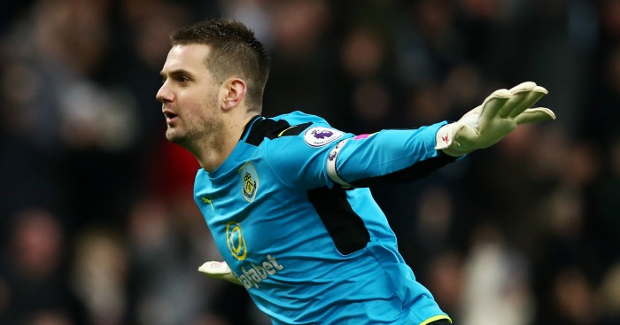 Burnley 'keeper Tom Heaton out for 'months', says Sean Dyche