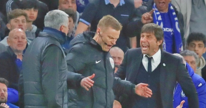 Conte, Mourinho 'out of their minds'