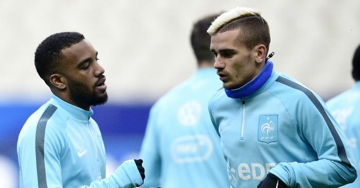 Lacazette vows to bring Griezmann to Arsenal