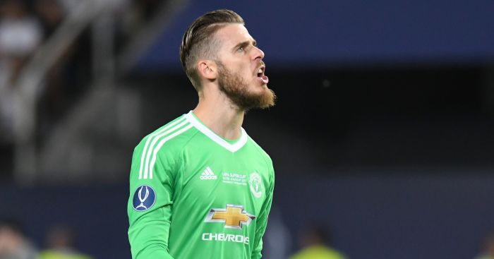 David de Gea reportedly set to sign new United contract
