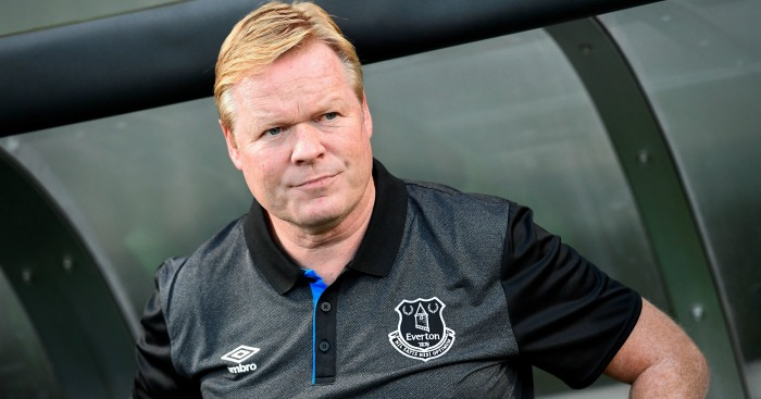 Everton boss Koeman reveals his plans for the January transfer window