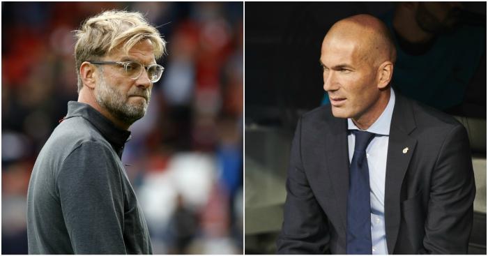 Liverpool x Real Madrid estatisticas tecnicos