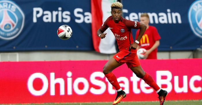 Reds target Presnel Kimpembe 'very happy' at Paris Saint-Germain