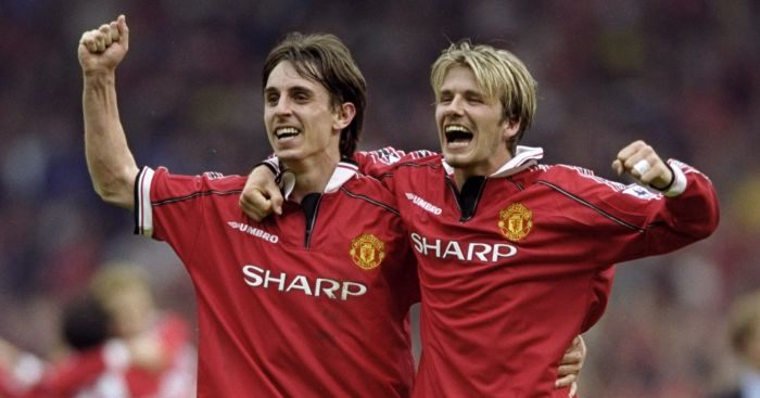 Neville speaks of his relief when Beckham left Man Utd