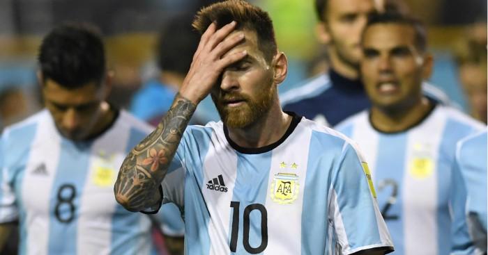 Argentina vs Peru CONMEBOL WC Qualifiers