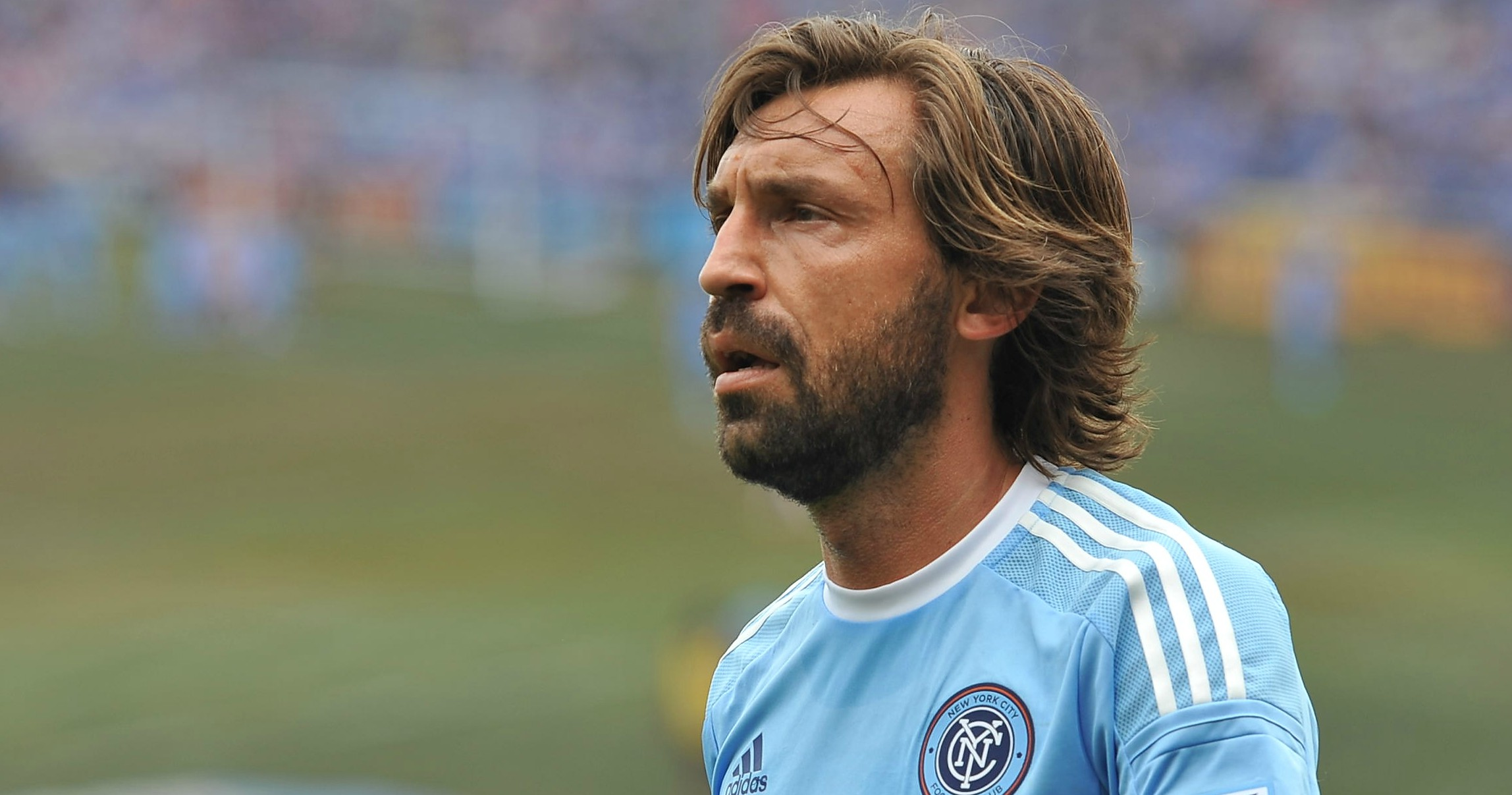 Pirlo plays his last professional pin point pass Football365