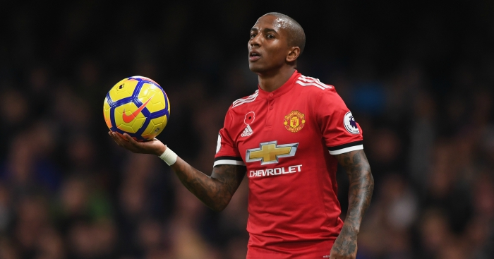 Manchester United Trigger One-year Extension For Ashley Young