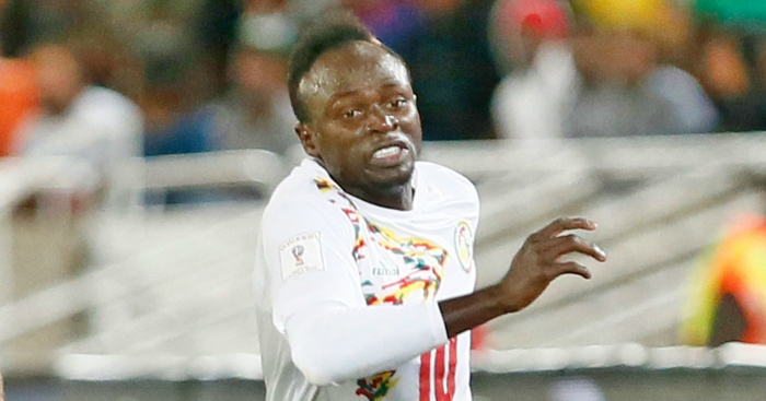 Senegal's Mane out injured for Bafana match