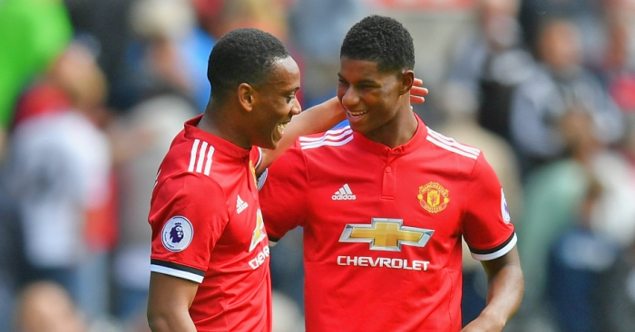 Jose Mourinho reveals why Marcus Rashford and Anthony Martial rarely start together