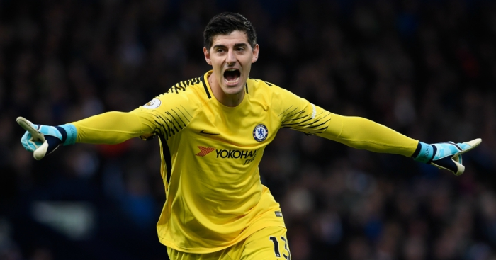 Chelsea star Thibaut Courtois drops Real Madrid transfer hint