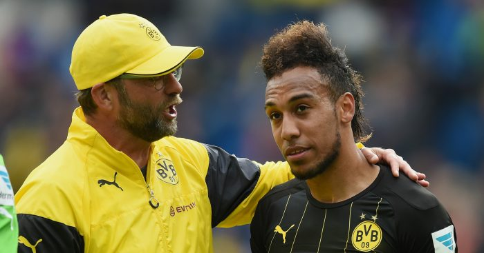 Liverpool plotting January move for Borussia Dortmund star Pierre-Emerick Aubameyang