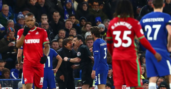 FA Fines Conte £8000 Over Ref Rant