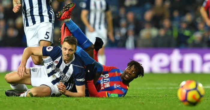 Jonny Evans: West Brom boss Alan Pardew 'fears' losing captain in January