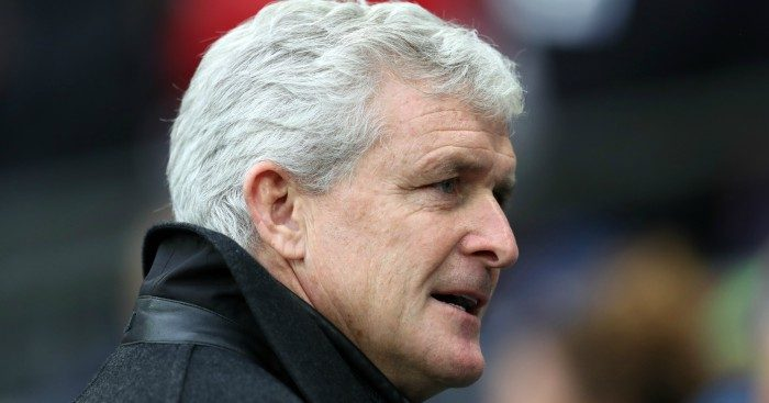 Mark Hughes 'liked' how his players were confronted by fans.