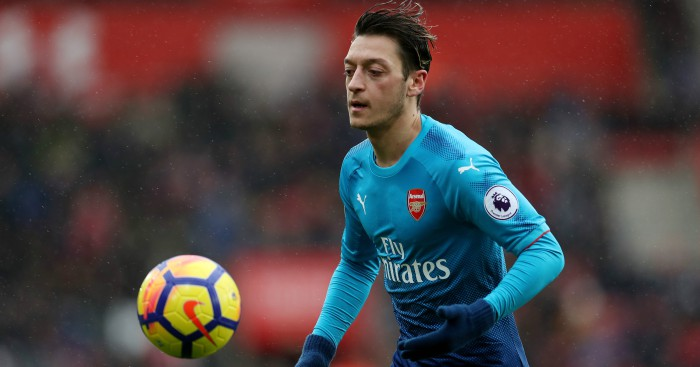 Arsenal boss Arsene Wenger confirms contract talks underway with Mesut Ozil