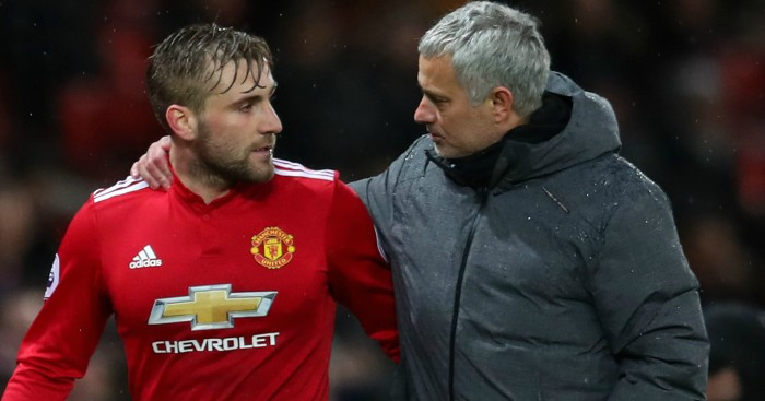 Luke Shaw now one of the best left-backs around - Jose Mourinho