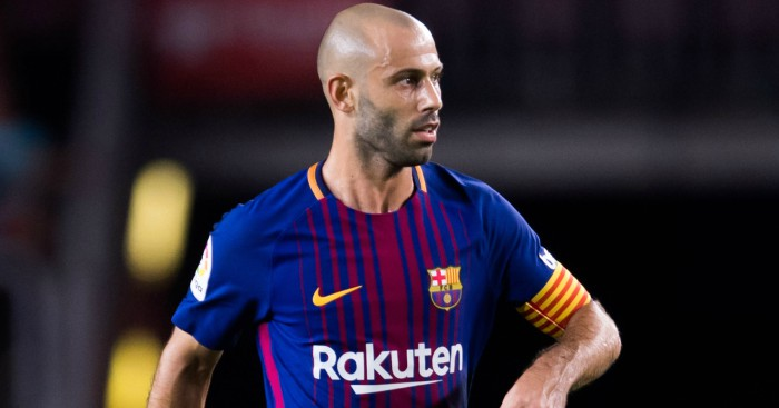 Mascherano receives Chinese offer