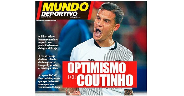 Liverpool give Barcelona £127m Philippe Coutinho asking price