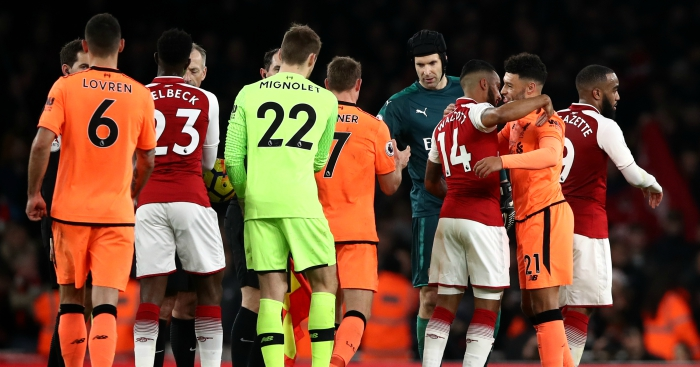 Arsenal v  Liverpool: From the sublime to the most ridiculous.
