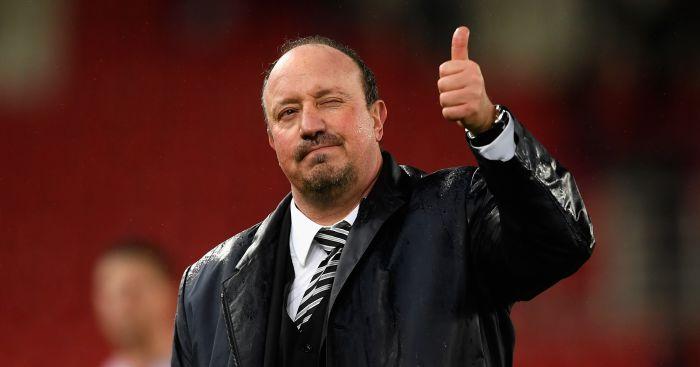Benitez discusses transfers and Hughes' Stoke future