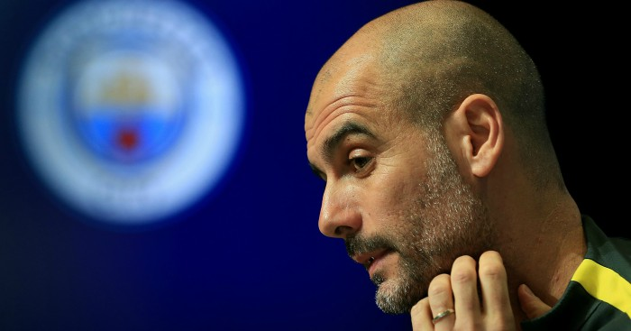 Manchester City need 32 players for quadruple bid, says Guardiola