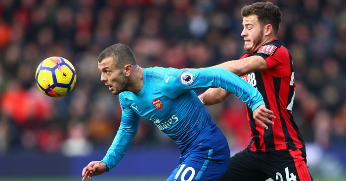 Captain Jack? Wenger talks up Wilshere leadership qualities