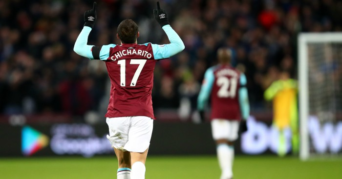 Chicharito Hernández open to West Ham exit
