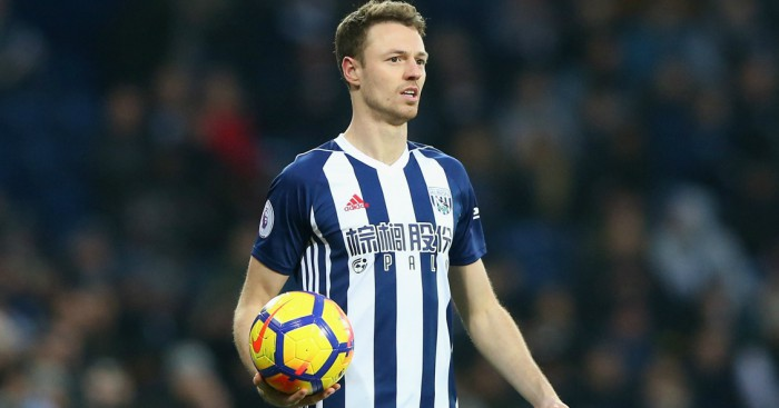 Report claims Arsenal bid £12m for West Brom star Jonny Evans