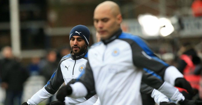 PFA offers to help resolve Riyad Mahrez and Leicester stand-off