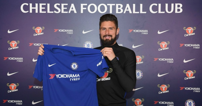 Giroud revels Conte was behind switch from Arsenal
