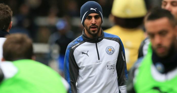 Leicester City's Riyad Mahrez reports to training ground, ends strike