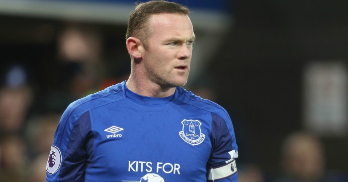 Everton striker Wayne Rooney happy he turned down China move