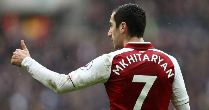 Arsenal boss says no need to be too anxious about Mkhitaryan injury