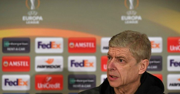Only hope: Wenger going full strength in Europa League