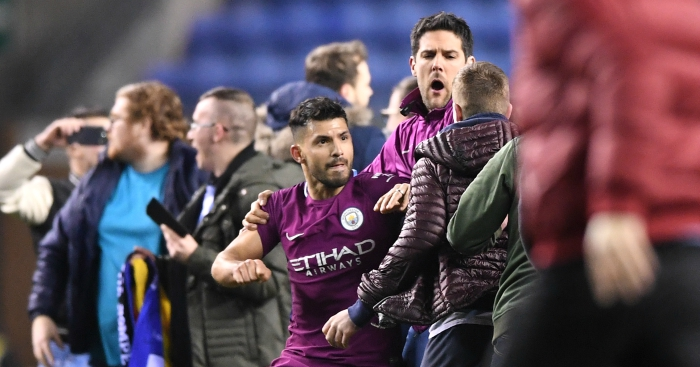 Man City fall to Wigan in FA Cup 5th round
