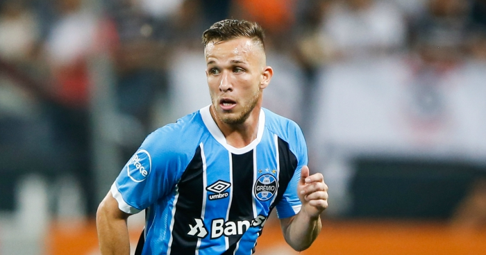 Barcelona agree deal to sign Gremio's Arthur, 21